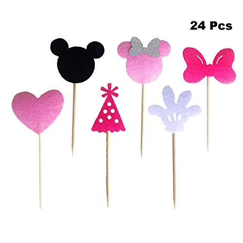 Finduat FD-Cupcake-1 Pink-Minnie