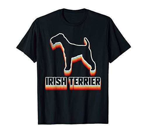 プラウドアイリッシュテリア 飼い主 レトロシャツ アイリッシュテリア 子犬好き アイリッシュテリア 母の日ギフト Tシャツ