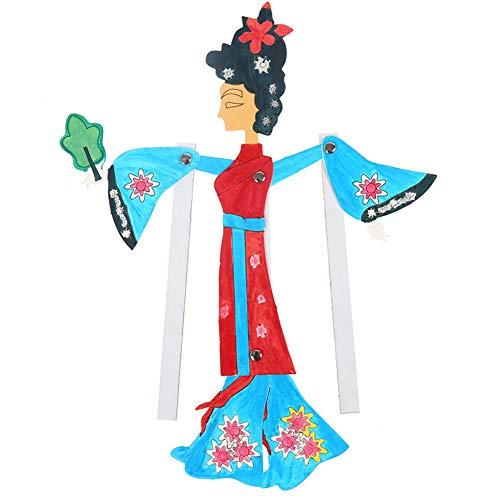 ZQQ Schattenspiel chinesisches traditionelles Kunsthandwerk Kindergarten Schattenspiel handgemacht kreativ,C