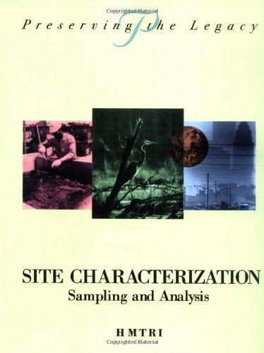 Site Characterization: Sampling and Analysis