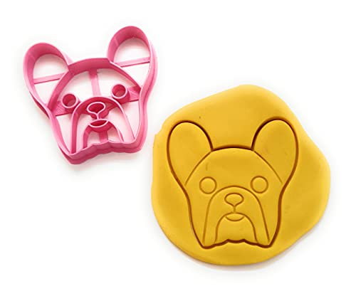 T3D Cookie Cutters French Bulldog Cookie Cutter, Suitable for Cakes Biscuit and Fondant Cookie Mold for Homemade Treats, Dogs