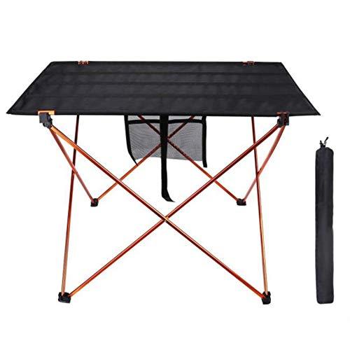 SCKL Tablas Tabla Mesas Portátiles Mesa De Picnic Camping Al Aire Libre del Jardín con La Bolsa De Aleación De Aluminio De La Tabla De Picnic Tela Oxford Ultraligera Duradero Mesa Plegable Desk