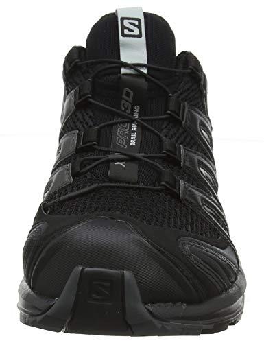 Salomon XA Pro 3D, Trail Running Shoe Mujer, Negro (Black/Magnet/Quiet Shade), 43 1/3 EU