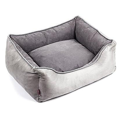 HÖCHSTE QUALITÄT : Durch hochwertige der verwendeten Materialien , ist das Hundekissen weich und sehr bequem. So sichern Sie den gesunden und gemütlichen Liegekomfort für Ihr Tier. ANWENDUNG : Die Hundesofa ist Outdoor und Indoor verwendbar. Der Bode...