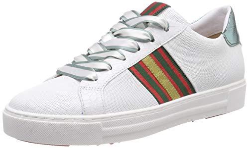 Maripe Damen 28326 Sneaker, Weiß (Bianco(Laser 246 in AGNELOTTO Bianco-VAR.01) 10), 37 EU