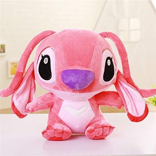 "Cute Giant Stitch Stuffed Animal (35-80cm/13.8""-31.5"") - Big Stitch Plush Cartoon Medium Plush Lilo And Stitch Doll, Large Pink Lilo & Stitch Pillow Stuffed Toys For Teen Girls Gift For Kids by HAngel"