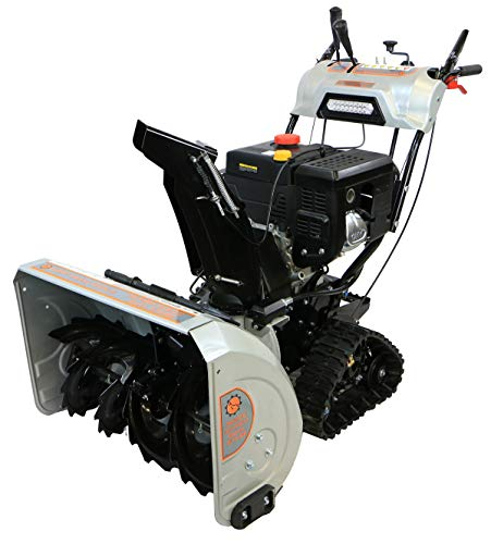 Dirty Hand Tools 103880 Self-Propelled - Electric Start 302cc Gas - 30' Snow Blower with Tracks