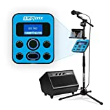 Singtrix Party Bundle on SharkTank & Kardashians, Karaoke Machine Transforms your Voice with 375+ Pro Vocal Effects, Voice Tuning, Microphone, Powerful Speaker, Mic Stand, YouTube Karaoke Songs