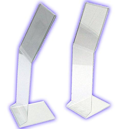 Ausstellungsdisplay Infoständer aus Acrylglas. Plakataufsteller, Infotafel für Din A4 Einleger