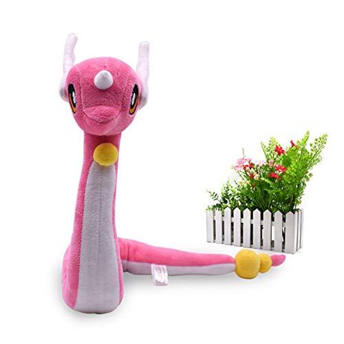 YSYSPUJ Juguetes de Peluche 68 cm Lindo Dragonair Peluche Toys Animales de Dibujos Animados Muñecas rellenas Suaves Toys de Peluche para el Regalo de los niños (Color : Pink, Height : About 68cm)