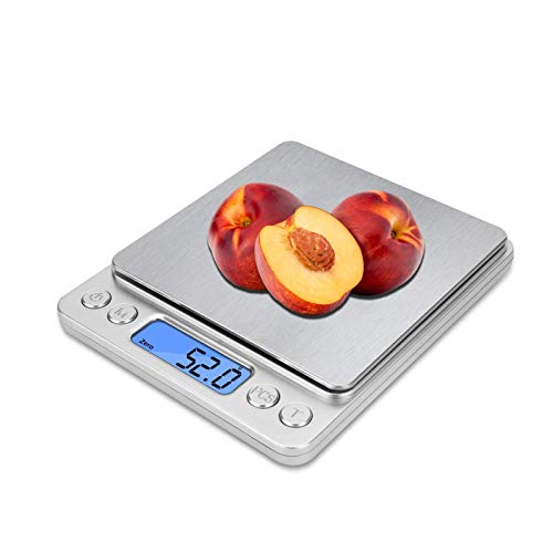 Kitchen Scale Food Scales Digital Weight Grams and Oz Shipping Scale Gram...