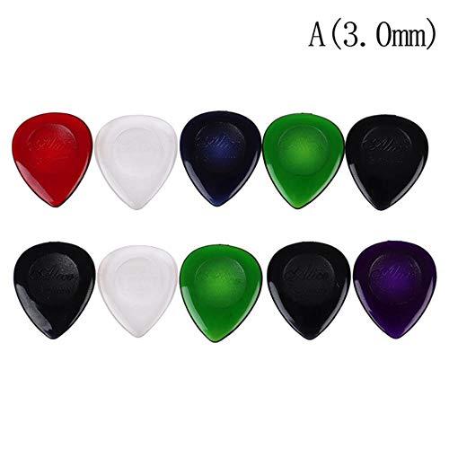 Piore 10 Piezas púa de Guitarra eléctrica púas de música acústica Plectro...