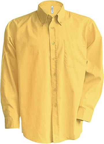 Kariban - Chemise manches longues col boutonné