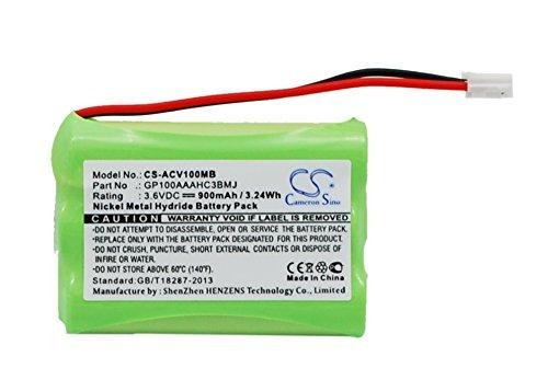BabyPhone Akku,passend für [Audioline] Baby Care V100,G10221GC001474,ersetzt [Audioline] GP100AAAHC3BMJ,