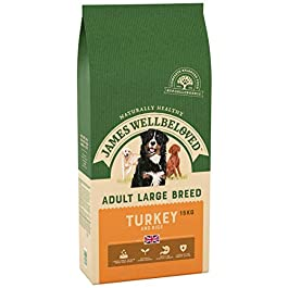 James Wellbeloved Large Breed Turkey & Rice Dry Dog Food