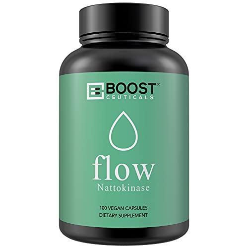 BoostCeuticals Nattokinase 100 200 mg Vegan No Stearates No Additives 4000 FU Supplement – Non GMO...