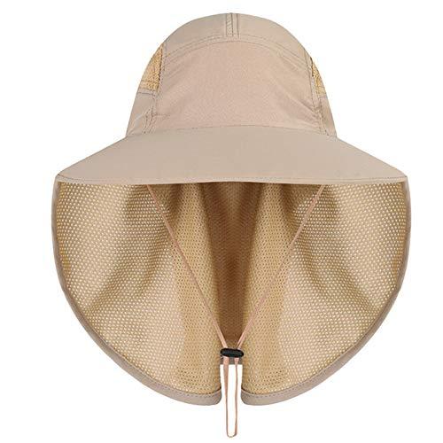 Gisdanchz Sombrero Mujer Gorro Pescador Sombrero Safari Mujer Playa Gorro Pescador Hombre Sombreros Gorra De Caza Mujer Verano Sombrero Ropa Senderismo Golf Mujer Caqui