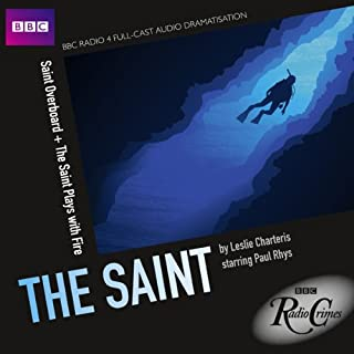 BBC Radio Crimes: The Saint: Saint Overboard & The Saint Plays with Fire cover art