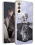 Funda de silicona para Samsung Galaxy S21 Plus, transparente, con diseño de animales dulces, funda protectora para niñas, suave TPU, funda flexible para teléfono móvil Samsung S21 Plus 5G