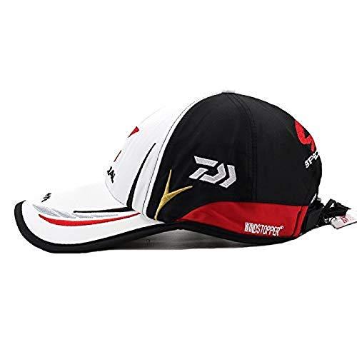 RQJOPE Gorra Beisbol Gorra DaiwaReal Hombres AdultosGorra dePesca Sombrero Daiwa Sombrero japonés de Japón Sombrilla Gorra debéisbol deportivaRegalo Sombrero para al Aire Libre