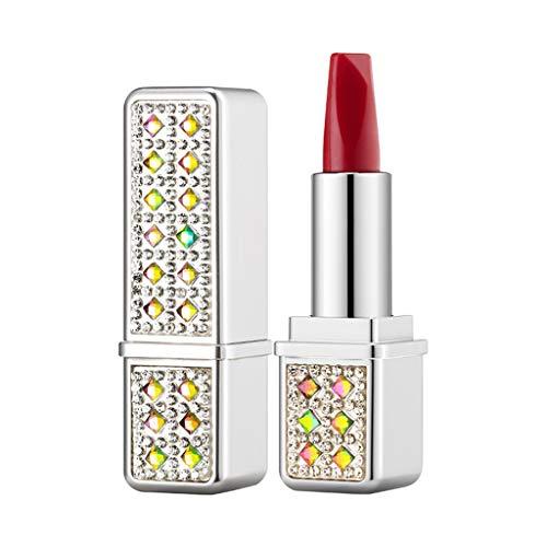 Lipstick Set Lápiz labial Lipstick Matte de 3 colores, Maquillaje de Profesional Lip gloss duradera y a prueba de agua Multicolor