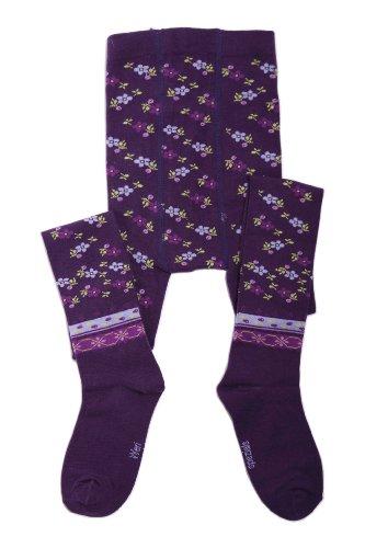 Weri Spezials panty voor pasgeborenen en kinderen, kleur: lila, leeftijd 110-116 cm (5-6 anni) Paars