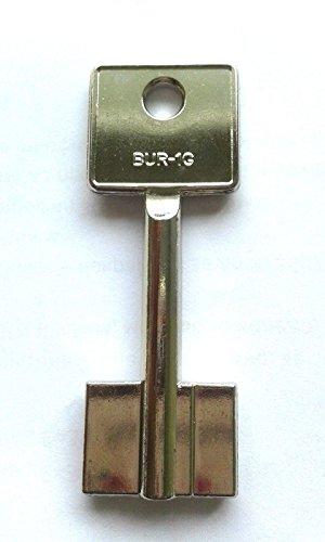 Tresorschlüssel Safe 5BUR1 Silca Keyblank