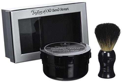 Set de regalo Crema de afeitar Jermyn Collection + Brocha de afeitar de tejón'Taylors Of Old Bond Street'