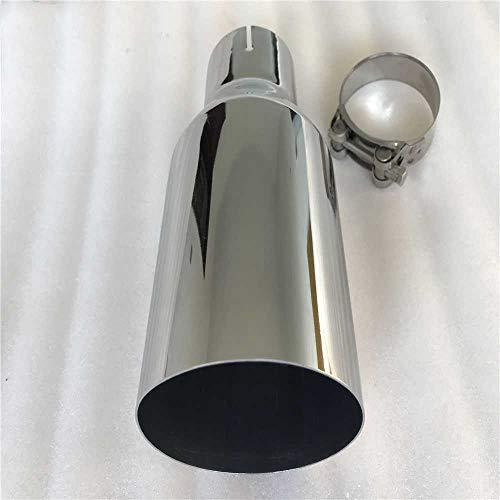 SAXTZDS Vehículo de Acero Inoxidable Que reacondiciona la Garganta de la Cola del silenciador del Coche de Escape Universal, Apto para b-MW e90