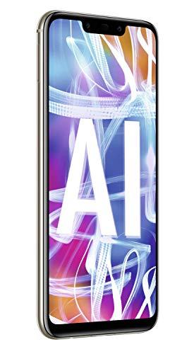 Huawei Mate20 lite Dual Nano-SIM Smartphone BUNDLE (16 cm (6.3 Zoll), 64GB interner Speicher, 4GB RAM, 20MP + 2MP Kamera, Android 8.1, EMUI 8.2) Platinum Gold [Exklusiv bei Amazon] - Deutsche Version - 3