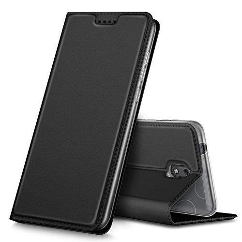 Custodia protettiva Nokia 1, Geemai Nokia 1 custodia protettiva, cover Nokia 1, protezione di lunga durata, protezione efficiente degli Nokia 1 smartphone.(Nero)
