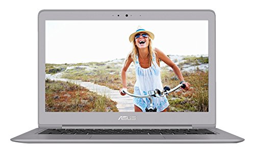 [2017 Version] ASUS ZenBook UX330UA-AH5Q 13.3-inch QHD+ Ultra-Slim Laptop (Core i5 Processor, 8GB DDR3, 256GB SSD, Windows 10), Harman Kardon Audio, Backlit keyboard, Fingerprint Reader