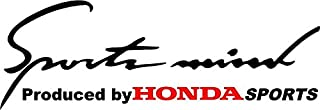 Art Creations Car & Bike sticker Sports MInd Honda For Window Sides Hood Bumper