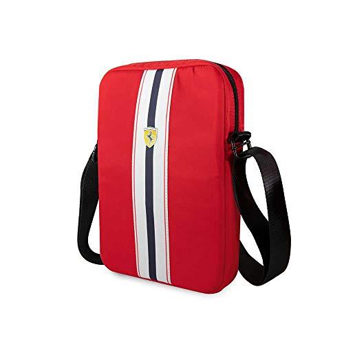 CG MOBILE x Mochila Scuderia, 38,1 cm (15 Pulgadas) Rojo/Negro, Rot, 10 Inches Unisex-Adulto