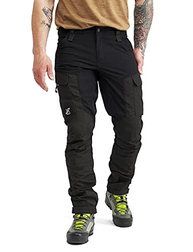 RevolutionRace Herren RVRC GP Pants, Hose zum Wandern und für viele Outdoor-Aktivitäten, Jet Black, XXL