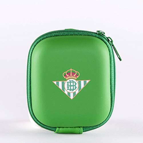 Real Betis Balompié- Funda universal para airpods, iwatch o smartbands, auriculares, cables, pendrives y mucho más