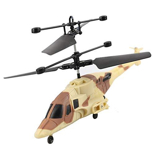 Millitär Heli Airwolf,Fliegender Hubschrauber im Army Look-Neuheit 2018!Einfach zu Steuern per Handbewegung!Ein super Geschenk für alle Technik Freaks zu Weihnachten!-Helicopter,Mini Drohne