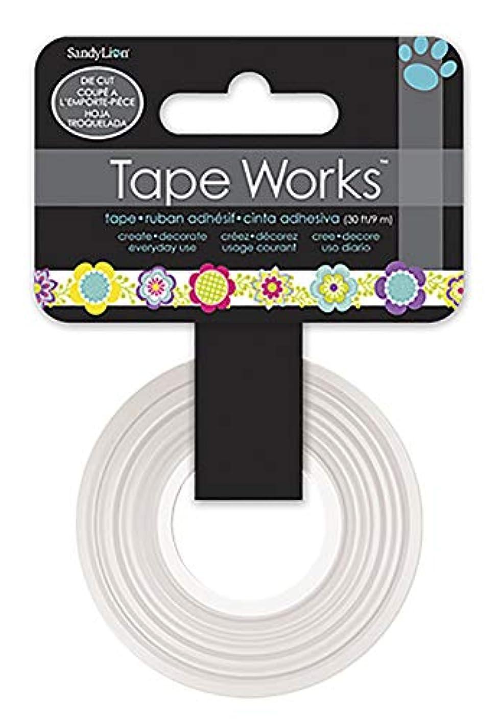 Tape Works Multi Floral Die Cut Tape