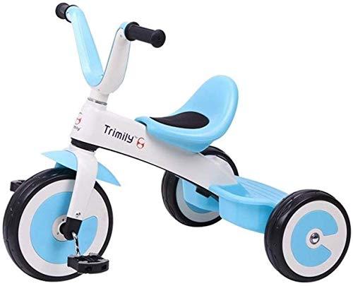 Poppenwagen, kinderschommel paard tricycle wagen, kleine kinderen fiets kleinkind buiten baby-fiets binnenin tricycle 2 in 1 tricycles kinderen 1-3-6 jaar babyartikelen