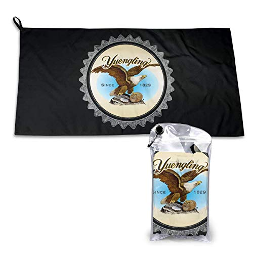 RGFDF Yuengling Beer 15.7'' X 31.5'' Super Absorbent Quick Dry Towels, Pool Bath Towel for Camping/Sports/Travel/Fitness.