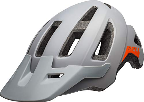 BELL Nomad, Casco Unisex, Matte Gray/Orange, One size