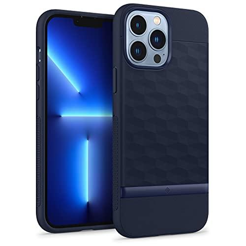 Caseology Funda Parallax Compatible con iPhone 13 Pro MAX - Midnight Blue