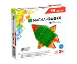 Magna-Qubix 19-Piece Set, The Original Magnetic Building Blocks for Creative Open-Ended Play, Educational Toys for Children Ages 3 Years +