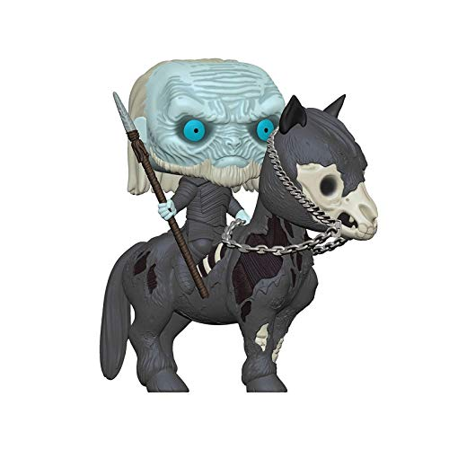 Good Buy Funko Pop Television : Game of Thrones - Night King Riding 4inch Vinyl Gift for Fantasy TV...