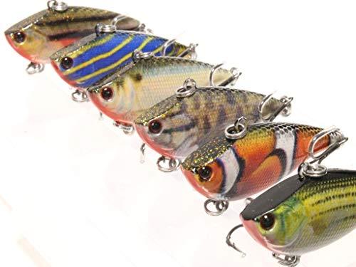 wLure Minnow Crankbait per Bass Fishing Bass Esche da Pesca