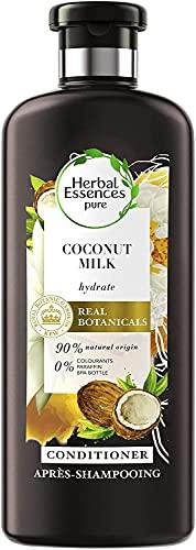 Herbal Essences Balsamo Latte di Cocco, Idrata i capelli secchi, in Collaborazione con i Giardini Botanici Reali di Kew - 360 ml