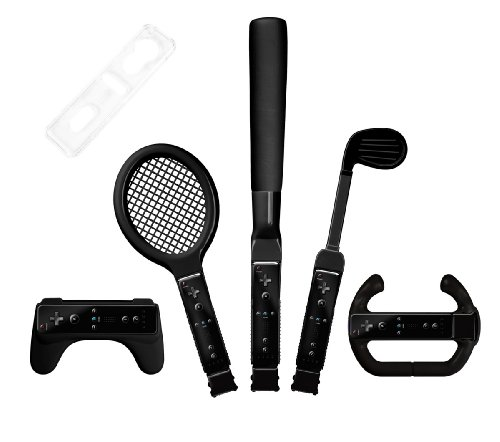 Nintendo Wii Sport Set, 8in1, black
