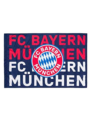 FC Bayern München Fahne Navy blau 150x100cm