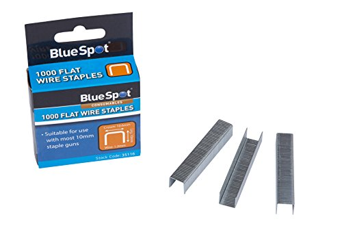 Blue spot Tools 35116Crown Flat Wire T50Type, argento