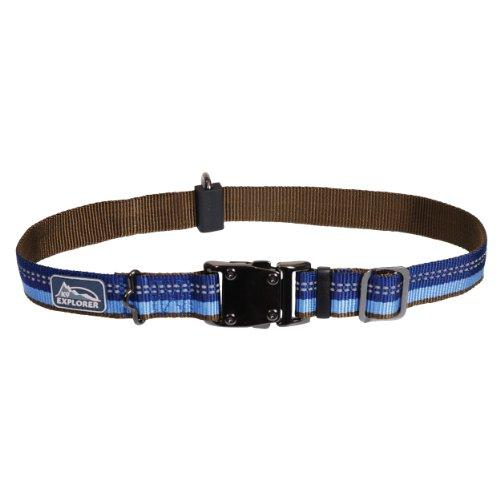 Coastal Pet Products, Inc. 36923 26 Inch x 1 Inch K-9 Explorer Adjustable Collar - Sapphire Blue